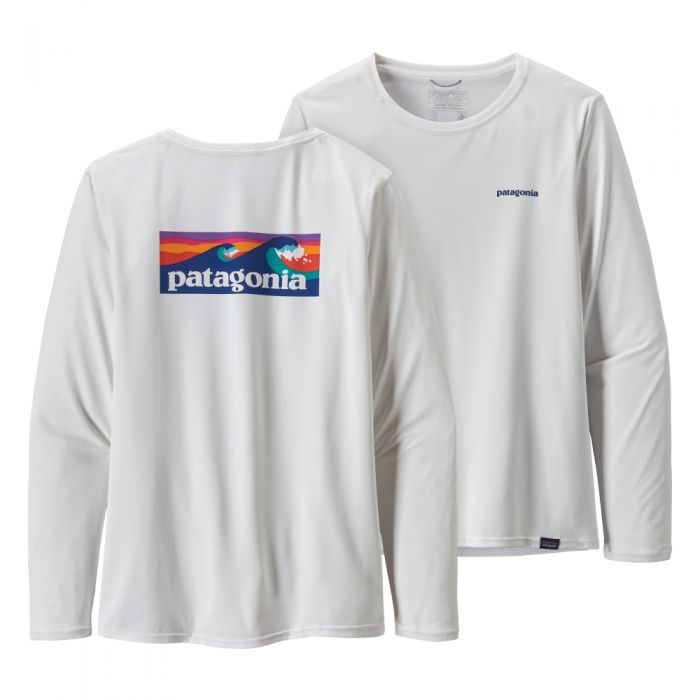 Cap Cool Daily Graphic LS Shirt, Dame