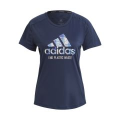 Run For The Oceans Graphic SS Tee, Dame